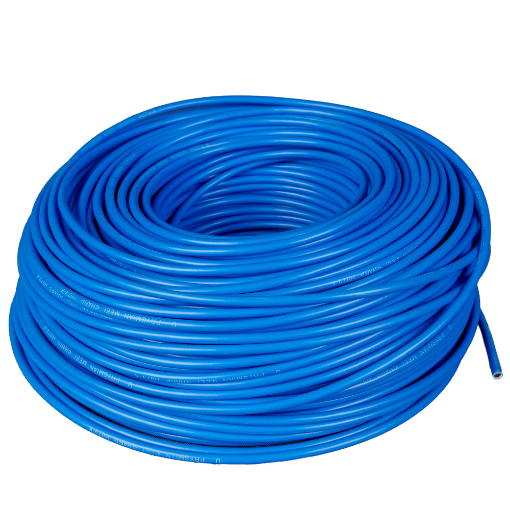 Cablu electric MYF (H05V-K) 4 mmp, izolatie PVC, albastru imagine 2021 mathaus