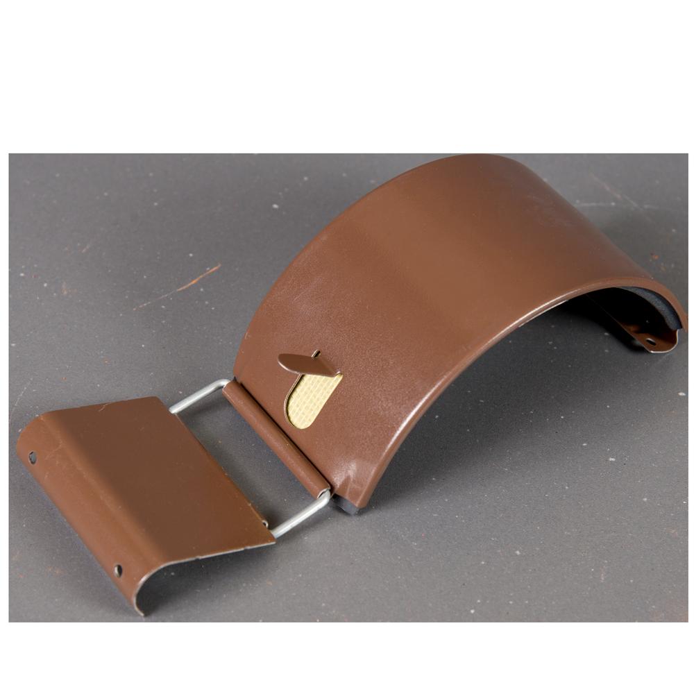 Imbinare jgheab, metalica, 125 mm, maro RAL 8017