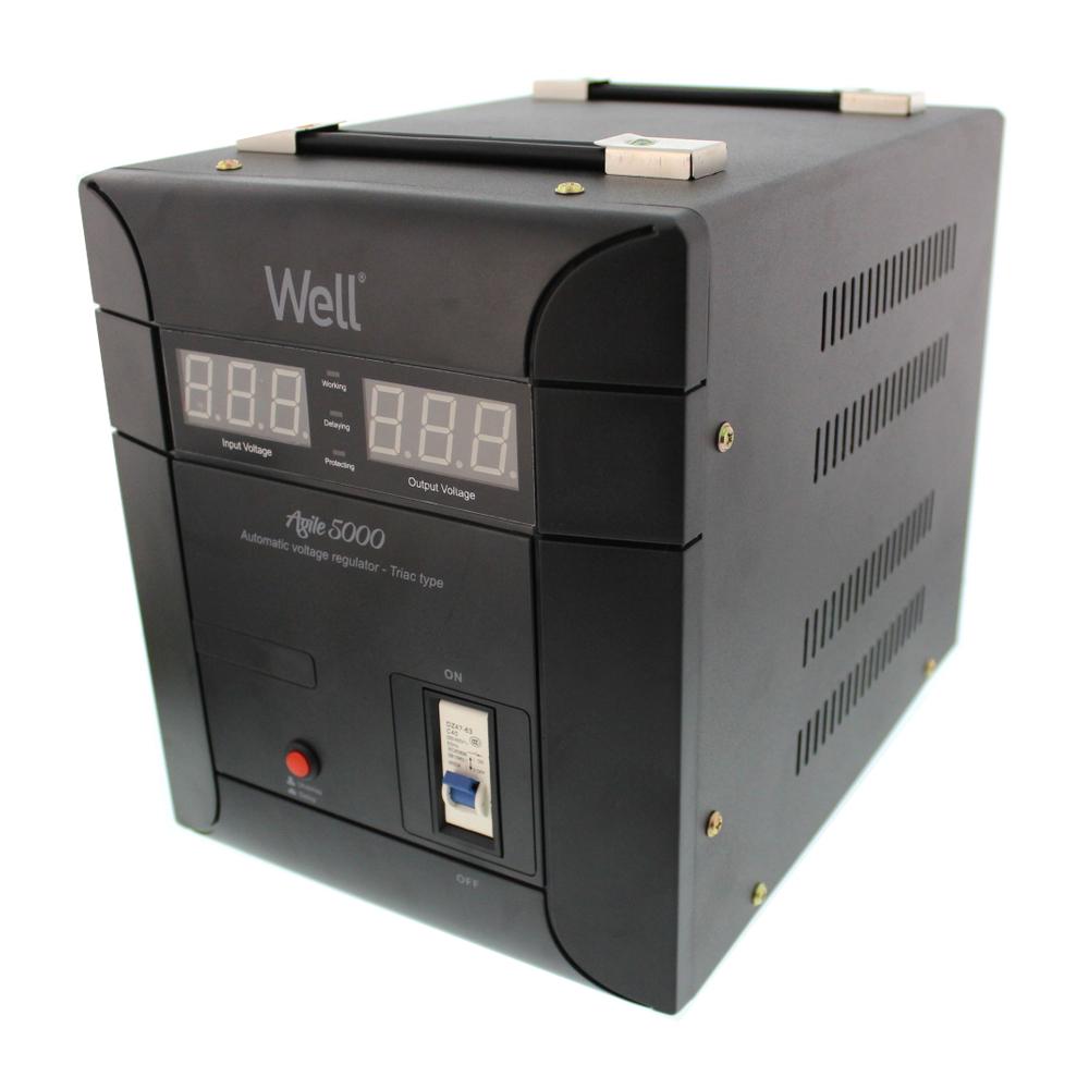 Stabilizator automat de tensiune Agile Well,5000VA/3500W imagine MatHaus