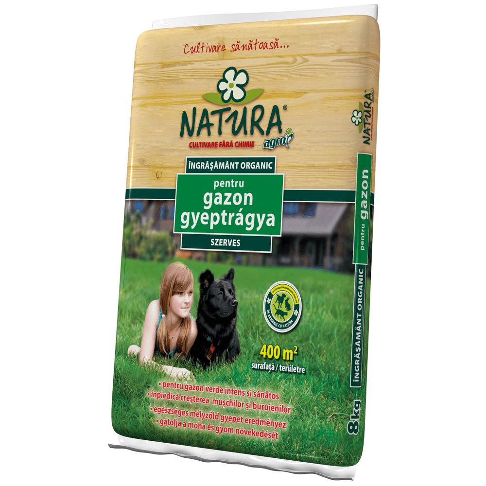 Ingrasamant pentru gazon Agro CS Natura, 8 kg