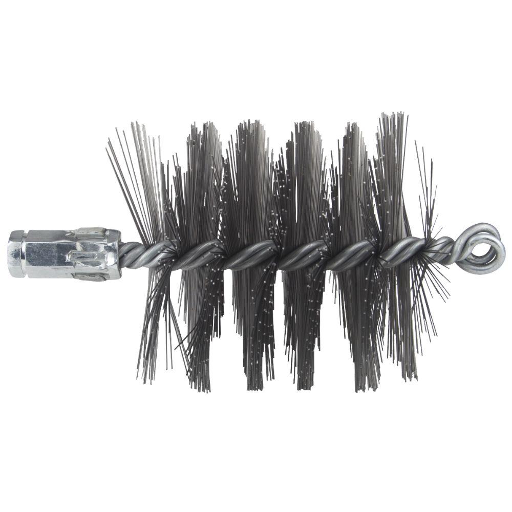 Perie arici pentru burlane soba, D: 100 mm, L: 180 mm imagine MatHaus.ro