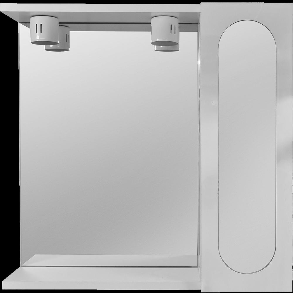 Oglinda baie Savini Due model 938, 2 becuri,  PAL, alb