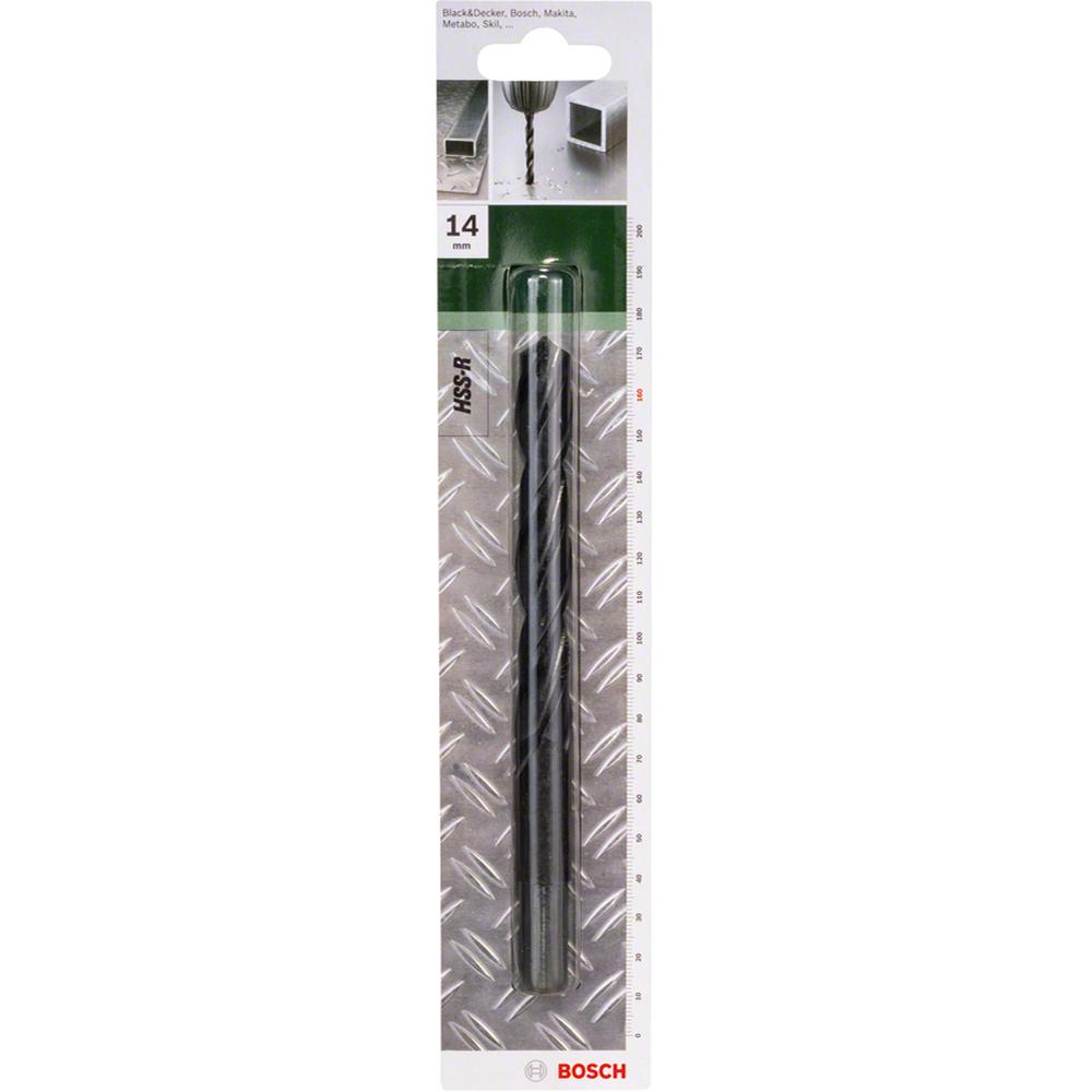 Burghiu Bosch HSS-R DIN 338, mandrina standard, pentru metal, 14 mm