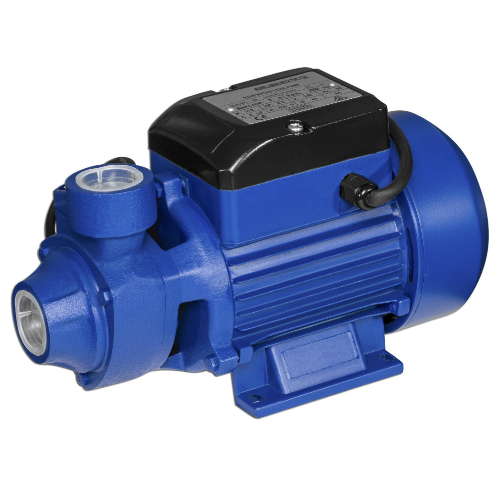 Pompa de apa curata Gospodarul Profesionist QB-60, motor 2 poli, 370 W,  2100 l/h debit imagine MatHaus.ro