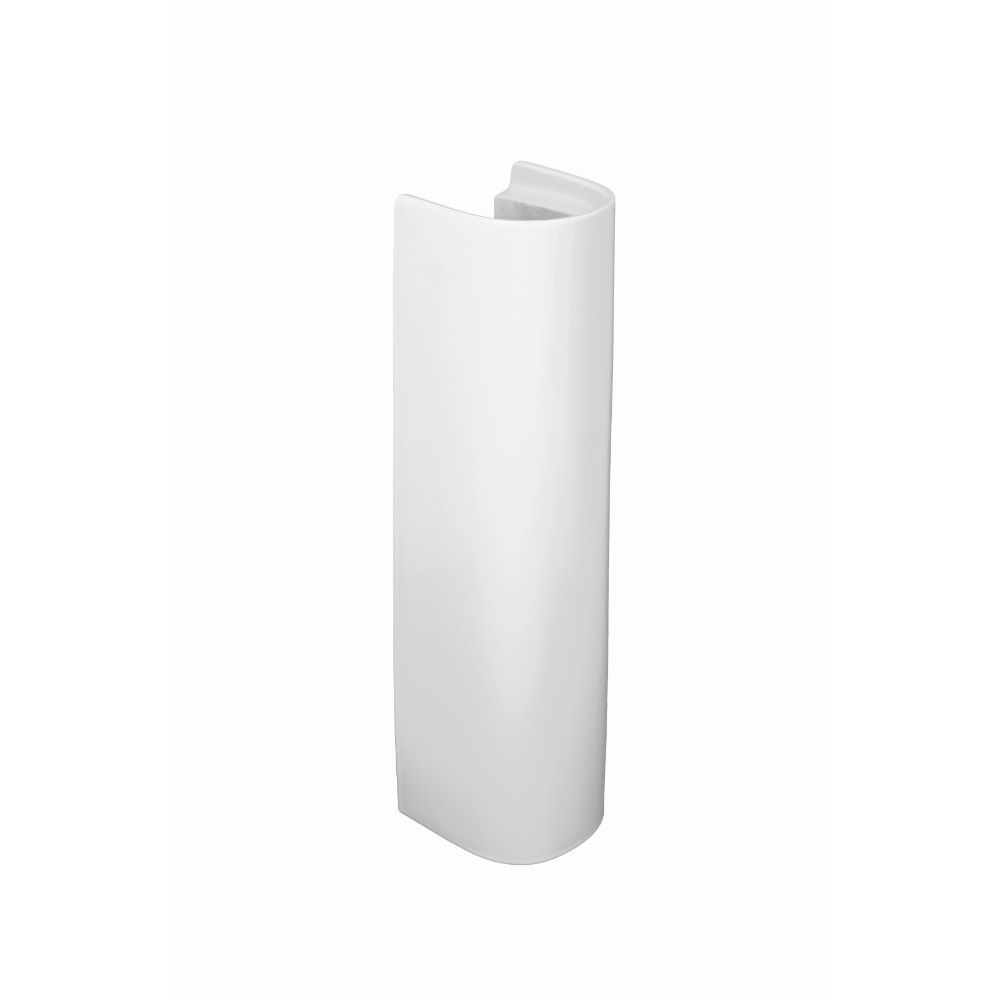 Piedestal lavoar alb, Zoom Neo, ceramica sanitara, H 67,5 cm imagine 2021 mathaus