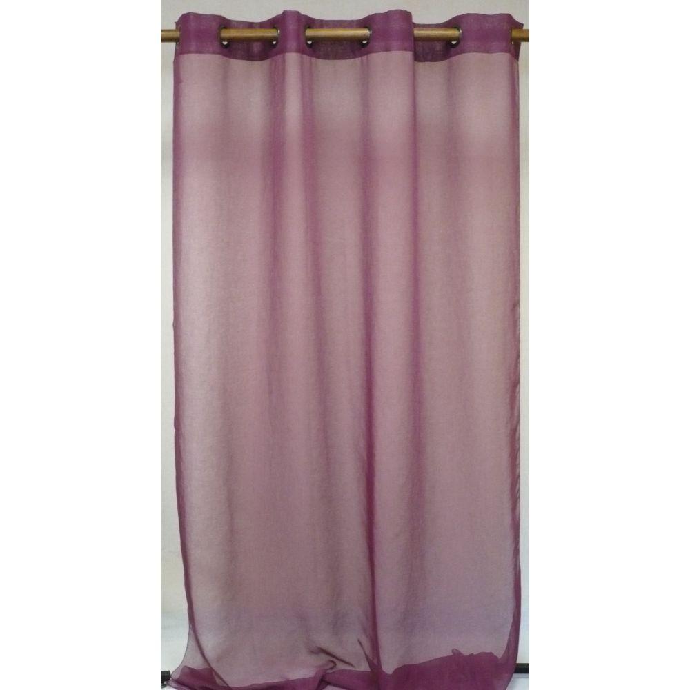 Perdea Charlotte din 100% poliester, violet 138, 140 x 260 cm imagine 2021 mathaus