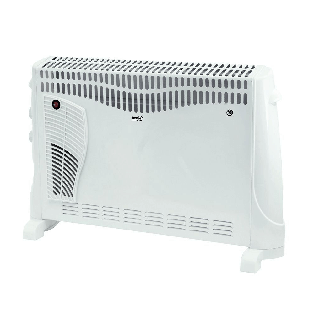 Convector electric cu ventilator FK 340 Turbo Home by Somogyi, portabil, 2000 W, 69 x 45 x 20 cm, 3 trepte, termostat mecanic, protective impotriva supraincalzirii, IP20 mathaus 2021