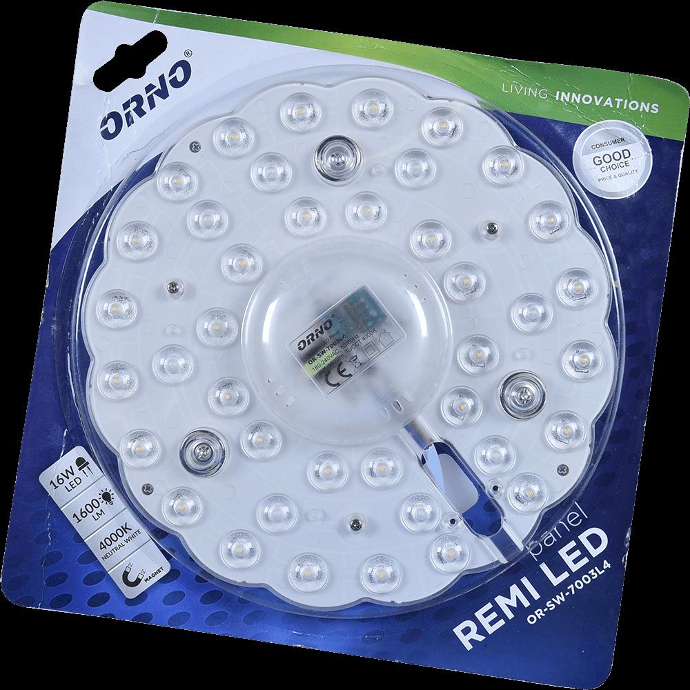 Modul LED, rotund, 16 W, 1600 lumeni imagine 2021 mathaus