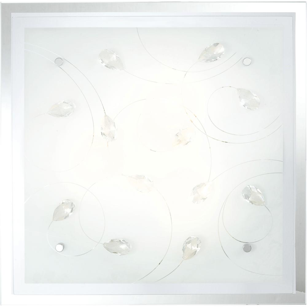 Plafoniera Jasmina, 3 x E27, 40W, 420 x 420 x 85 mm