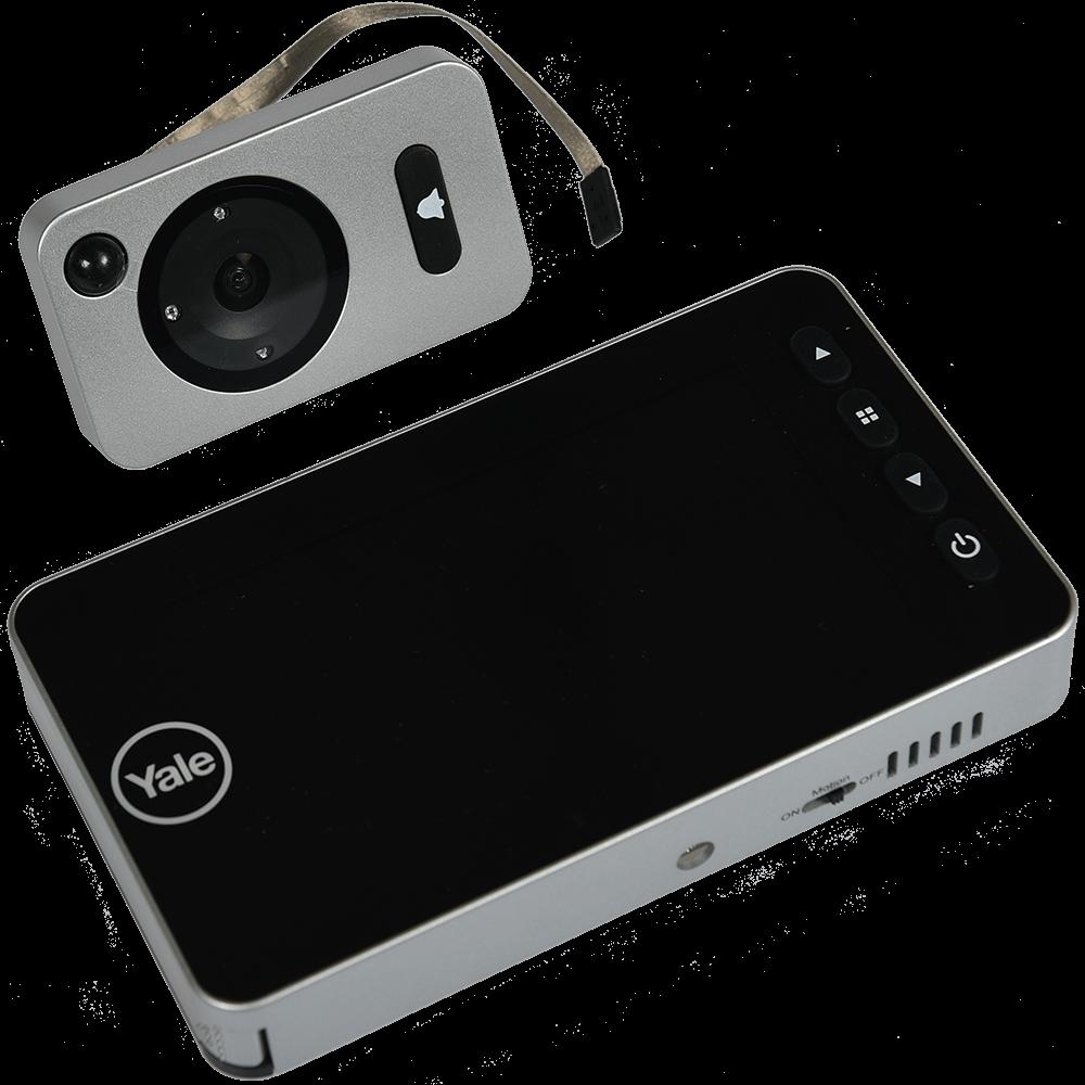 Vizor electronic Yale 3.2'', unghi 105 grade, pentru usi 38 - 110 mm grosime imagine 2021 mathaus