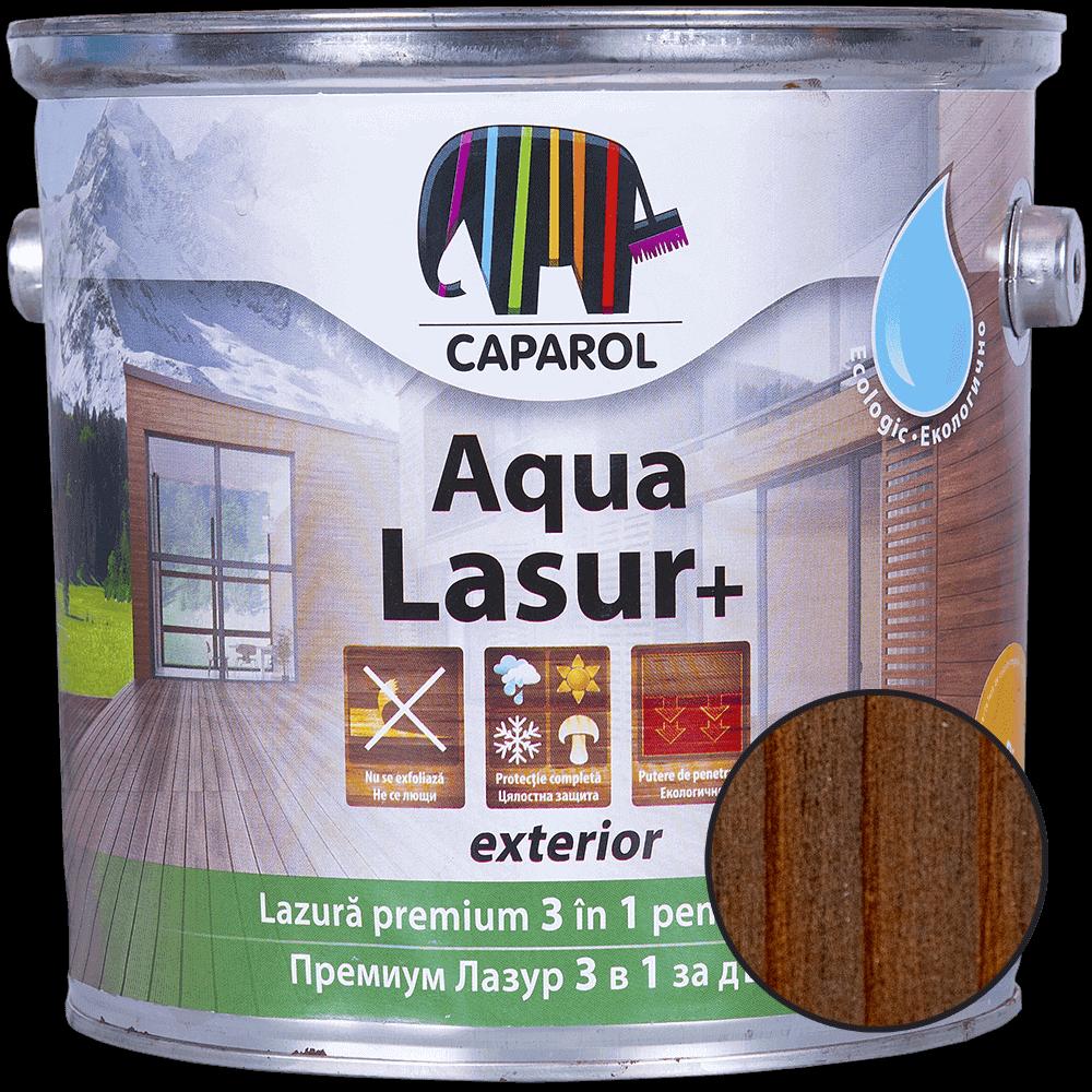 Lazura pentru lemn de exterior Caparol Aqua Lasur +, palisandru, 2,5 l imagine 2021 mathaus