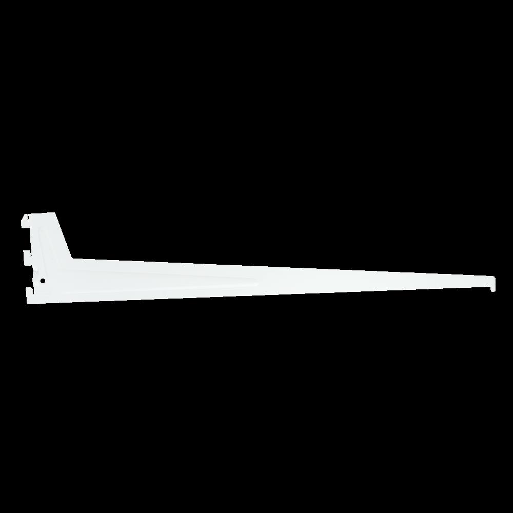 Suport PRO pentru rafturi din lemn, metal sau sticla, L: 600 mm, gri imagine MatHaus.ro