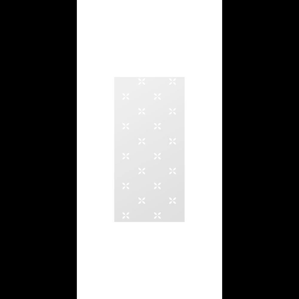 Faianta Dual Gres London, alb-gri, aspect floral discret, lucioasa, 30 x 60 cm imagine 2021 mathaus