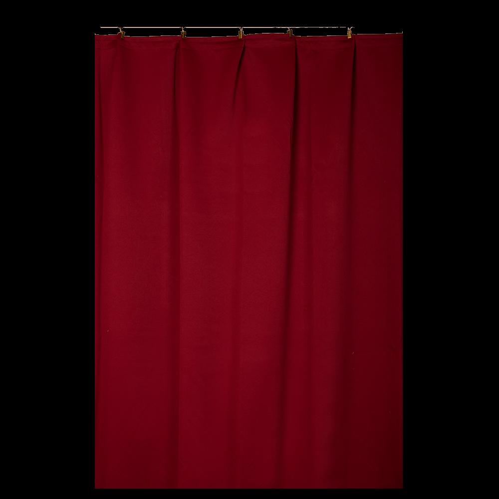 Draperie Verdunklungsschal 2250 rosu, 145 x 245 cm