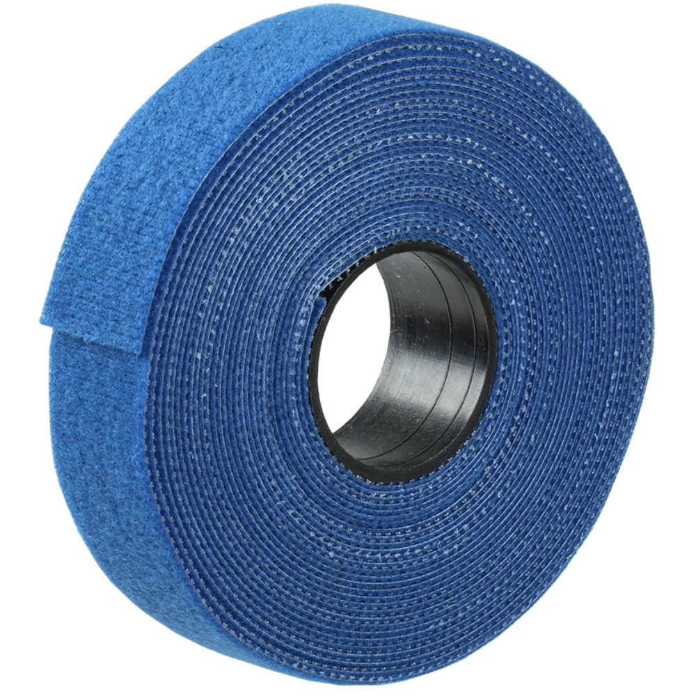 Clema de fixare cabluri reutilizabila IEK Velcro, albastru, 16 mm, 5 m mathaus 2021