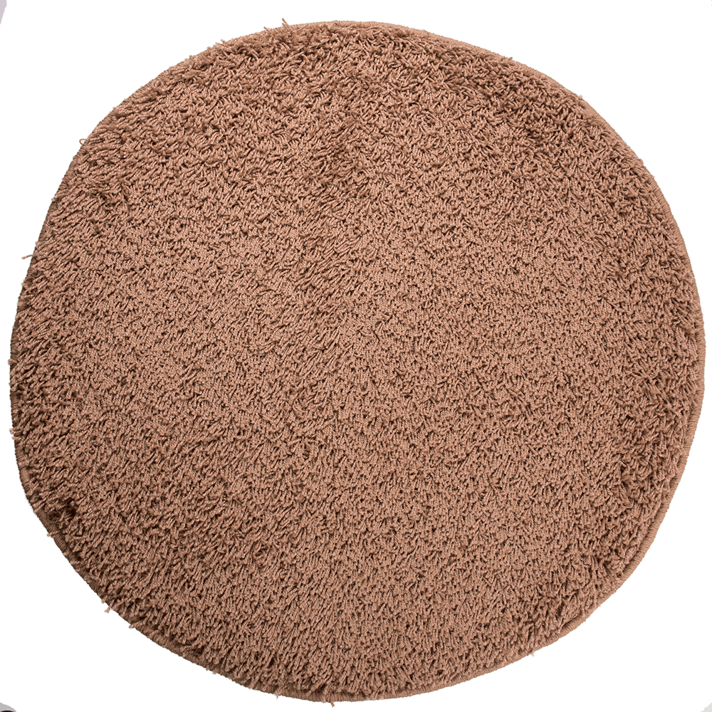 Covor rotund Mistral, 100% polipropilena friese, model modern bej 91, 133 cm mathaus 2021