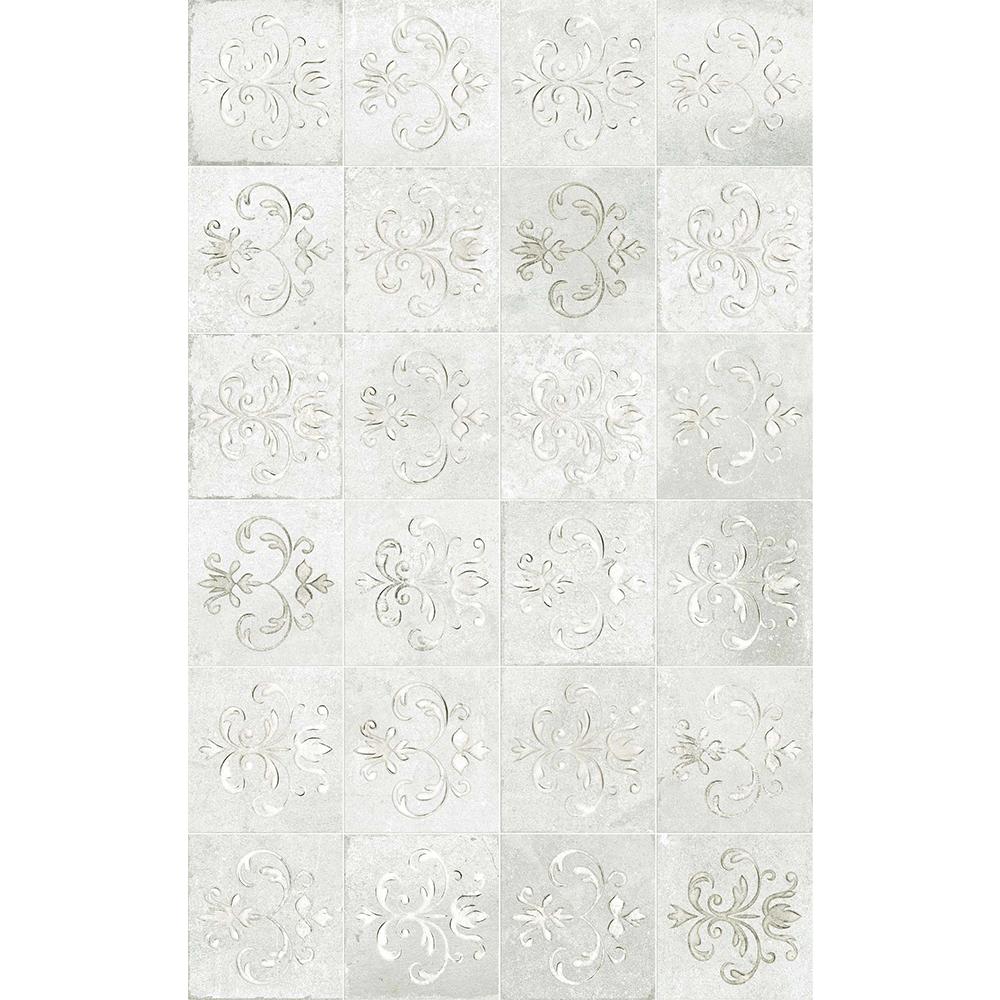 Faianta decorativa Kai Ceramics Latina, gri, finisaj estetic, mat, 25 x 40 cm imagine MatHaus