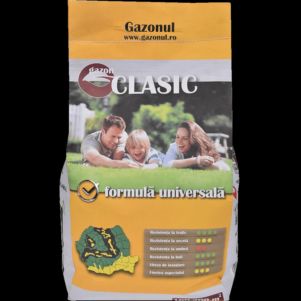 Seminte pentru gazon Clasic, suprafata 160 mp, 4 kg
