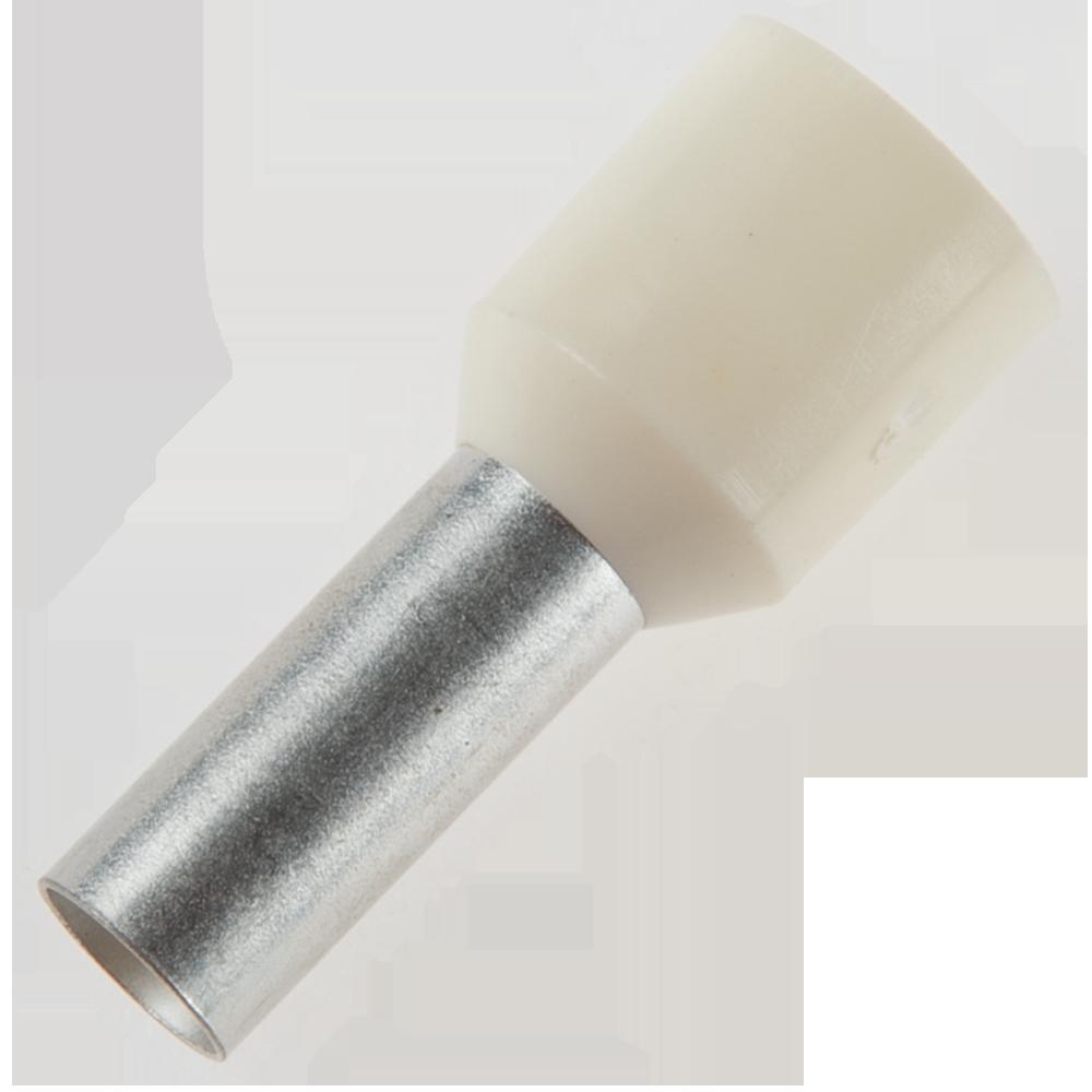 Pin terminal de cupru izolat 10 mm