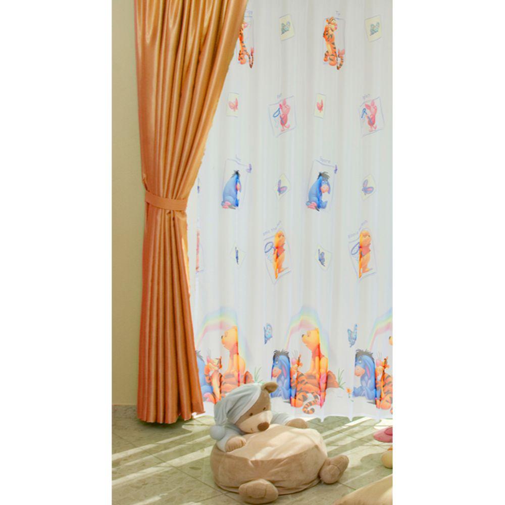 Perdea Winnie Pooh 11221 din poliester, multicolor, 145 x 245 cm imagine 2021 mathaus