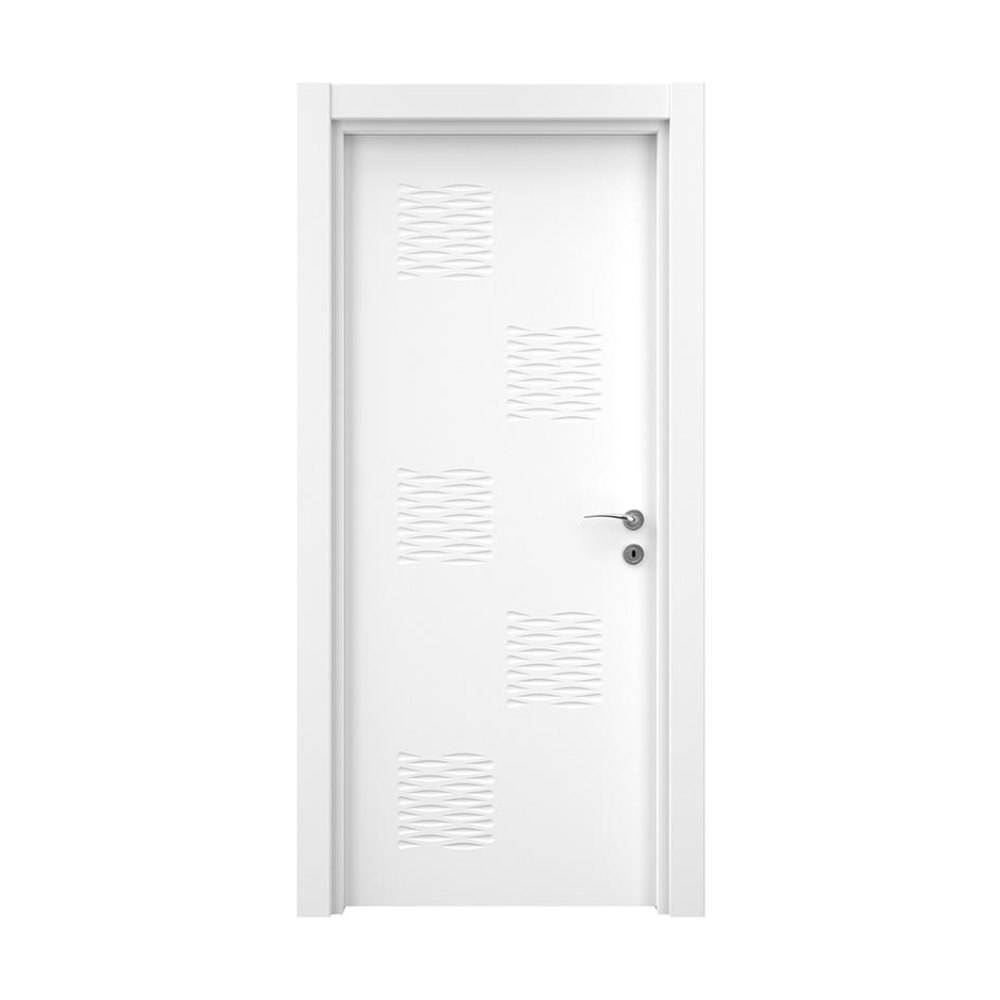 Usa interior plina, MDF, Variodor Lacquered White, alb lacuit, 198 x 70 cm, deschidere dreapta