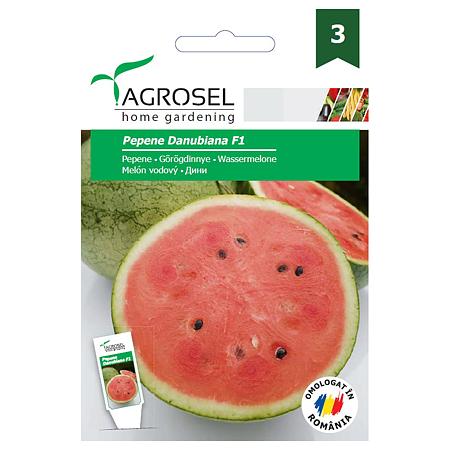 Seminte de pepene verde, Agrosel Danubiana F1