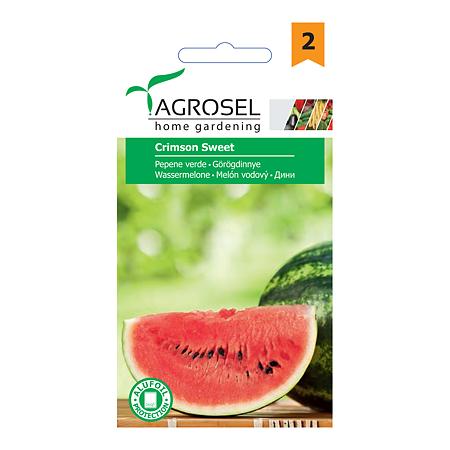 Seminte de pepene verde, Agrosel Crimson Sweet