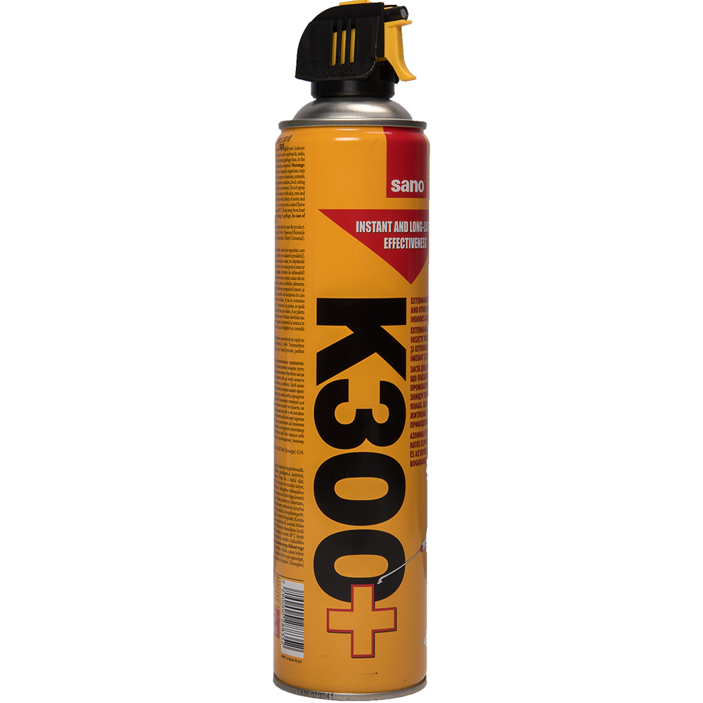 Spray insecticid impotriva insectelor taratoare Sano K300+ , 630ml