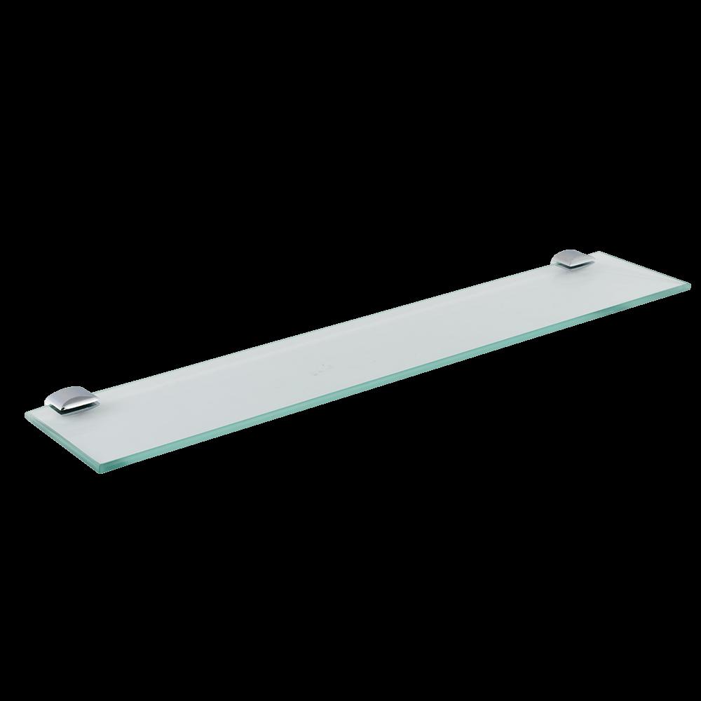 Etajera pentru oglinda baie Romtatay Ronda, sticla, 1 raft, 50 x 10 cm mathaus 2021