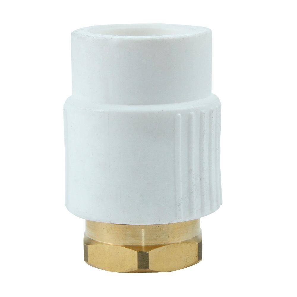 Semiolandez Supratherm, PP-R, alb, 25 mm x 3/4 inch
