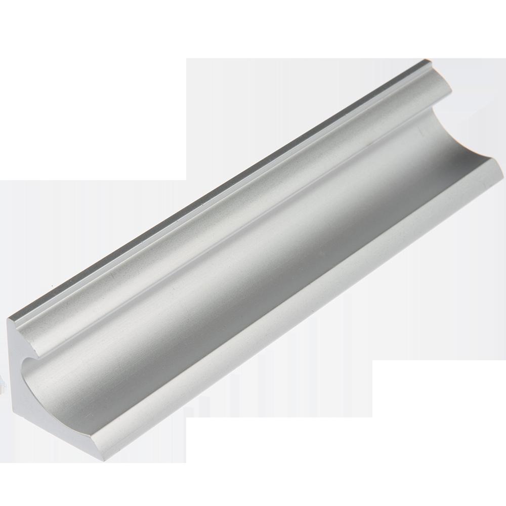 Maner AA613 128 mm, aluminiu mat mathaus 2021