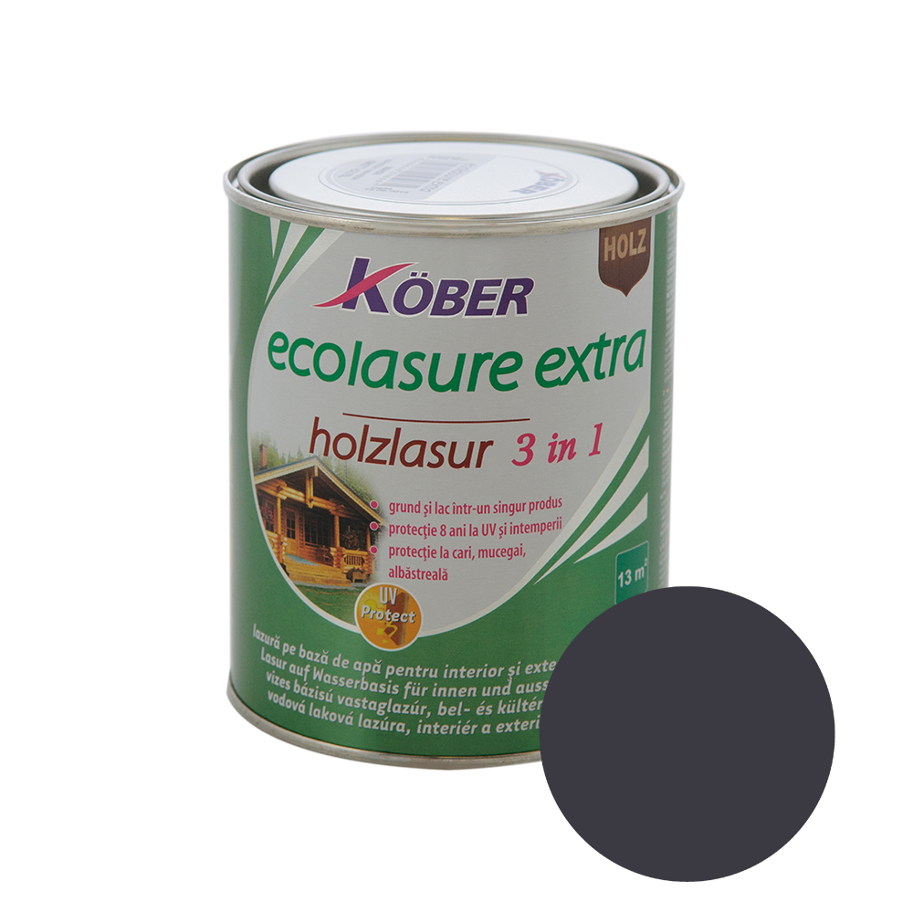 Email Kober Ecolasure Extra 3 in 1, wenge, 0,75 l
