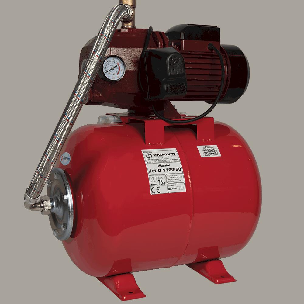 Hidrofor JetD 1100W 50l Tricomserv