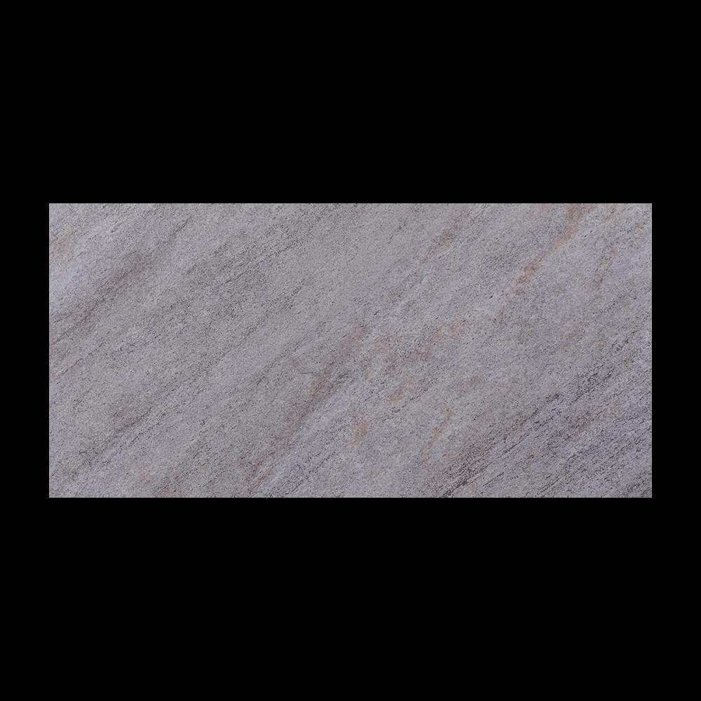 Gresie portelanata Quartzite 7, PEI 4, gri deschis, 60 x 30 cm
