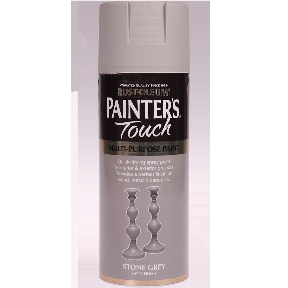 Spray Rust-Oleum Painter`s Touchs, satin, gri piatra, 400 ml