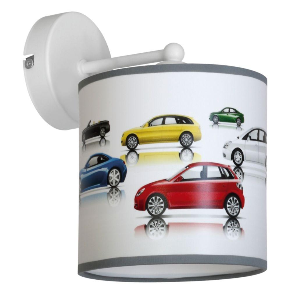 Aplica pentru copii Cars 1, 1 x E27 imagine MatHaus.ro