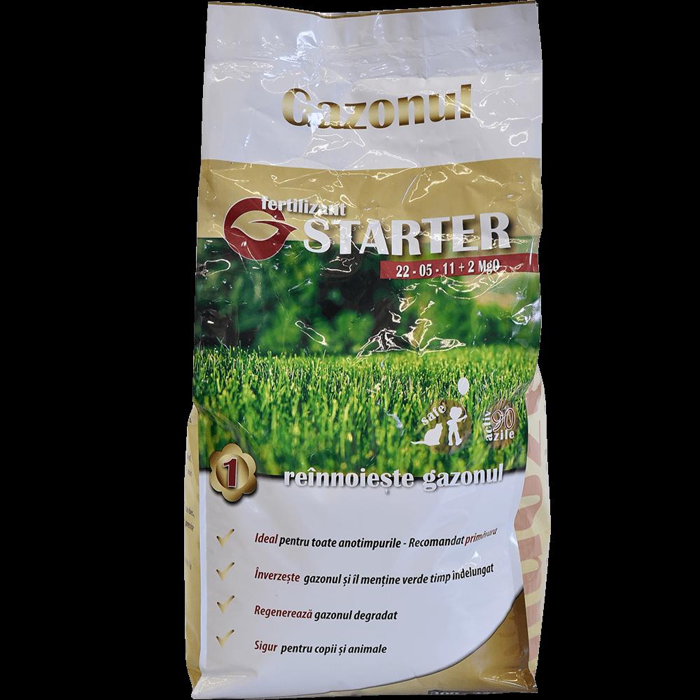Fertilizant pentru gazon Starter Gazonul, 5 kg imagine MatHaus.ro