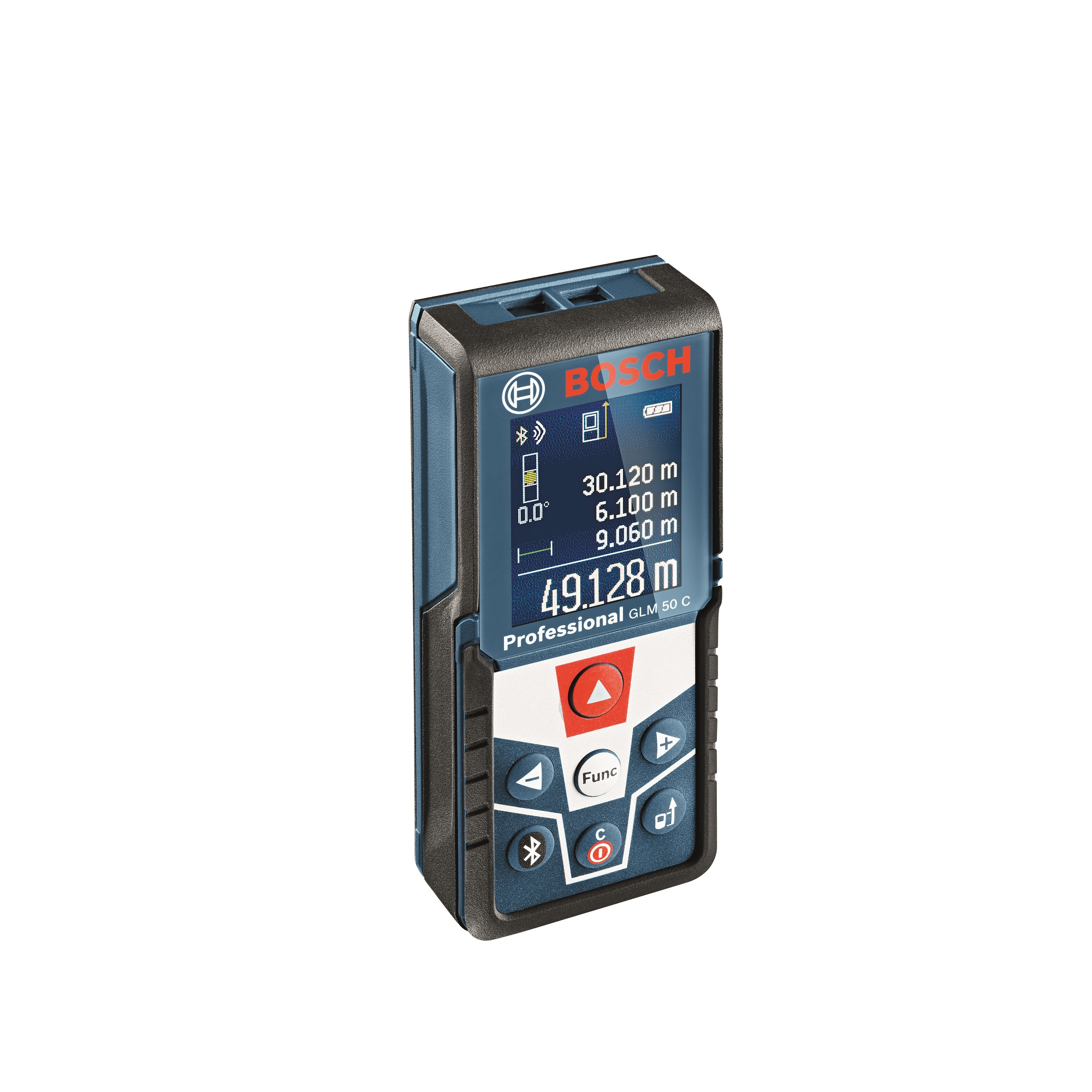 Telemetru Bosch GLM50 C Professional cu dioda laser 635nM, 0.05-50 m, deconectare dupa 5 min mathaus 2021