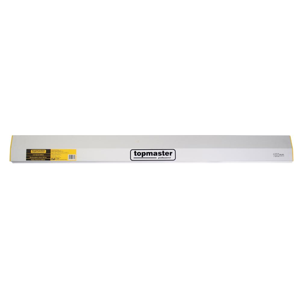 Dreptar aluminiu pentru constructii, Topmaster, 2.5 m