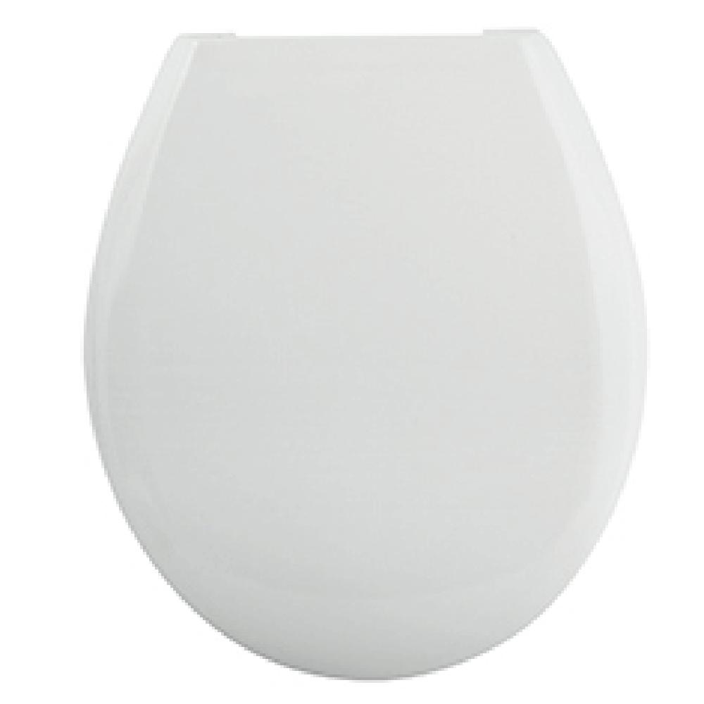 Capac pentru WC Romtatay Arizona, duroplast, alb,43 x 36, 5 cm