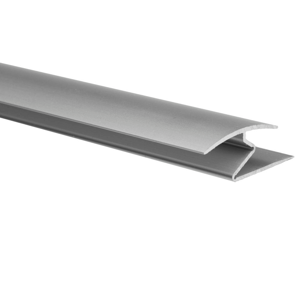 Profil de trecere cu surub mascat cu diferenta de nivel A69 Effector, argint, 0,9 m imagine 2021 mathaus