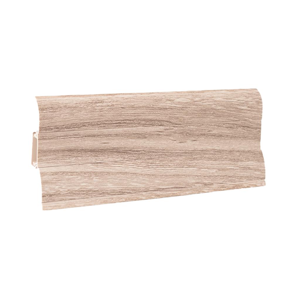 Plinta parchet Perfecta 200, PVC, wood Evora oak, 2500 x 62 x 23 mm imagine 2021 mathaus