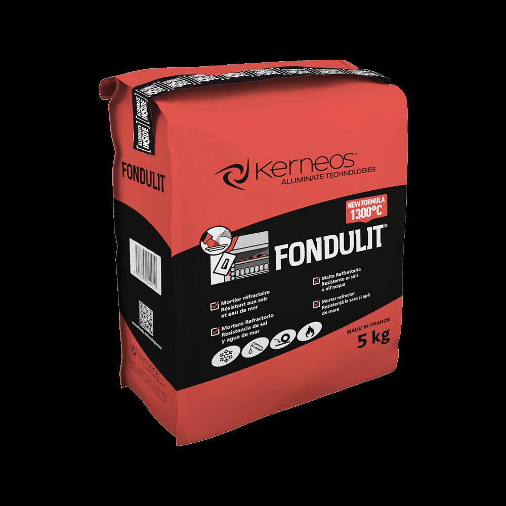 Mortar refractar Fondulit, intarire rapida, pentru medii corozive si acide, 5 kg imagine 2021 mathaus