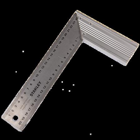 Echer pentru dulgherie, aluminiu extrudat, 250 x 140 mm
