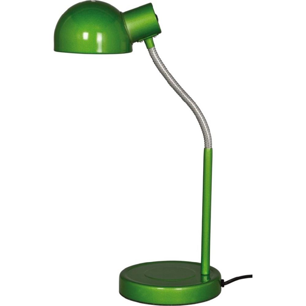 Veioza de birou Teddy  KL 2097, metal verde/crom, 1 X E27, 40W imagine 2021 mathaus