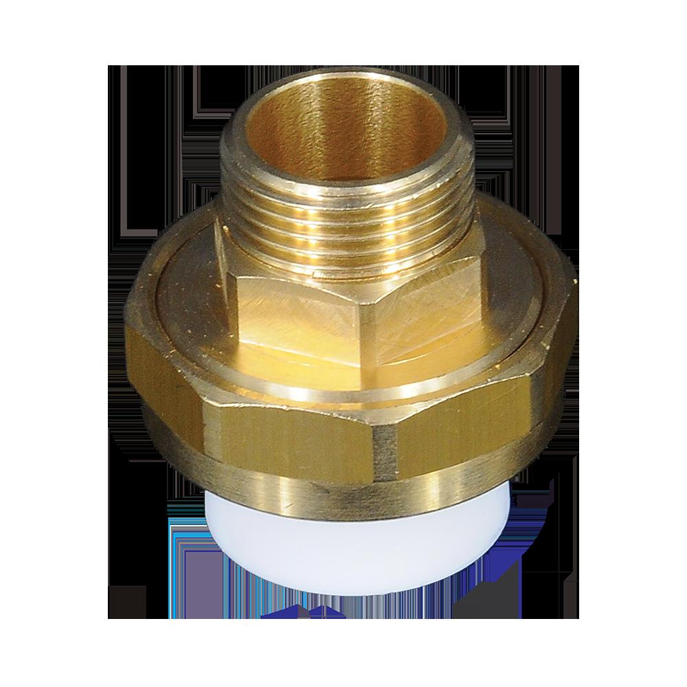 Olandez Supratherm, PP-R, filet exterior, alb, 25 mm x 3/4 inch