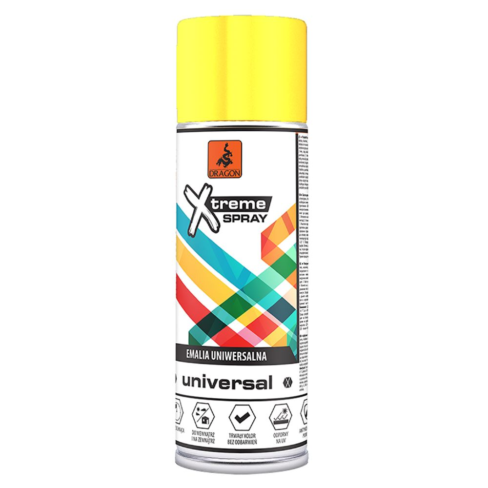 Vopsea spray universala X-Treme, galben RAL 1018, 400 ml mathaus 2021