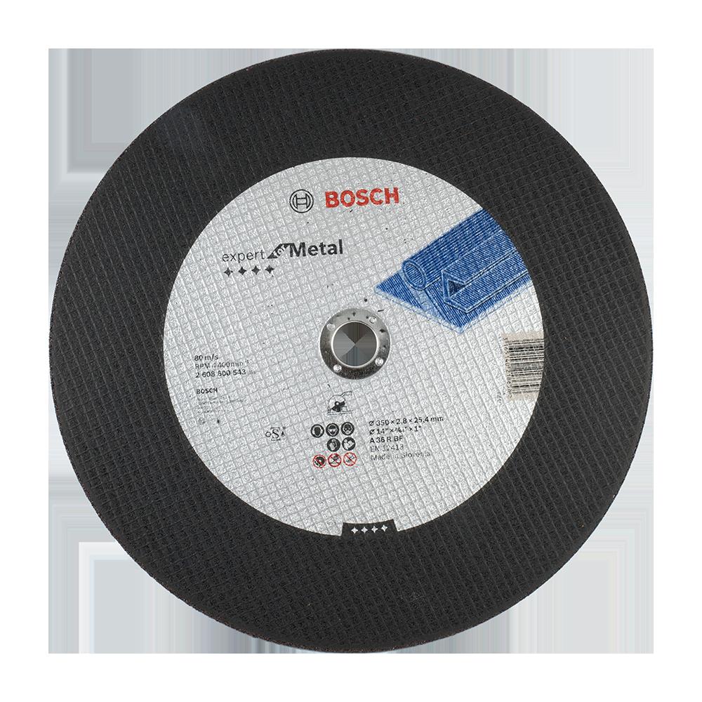 Disc pentru taiere drept metal, Bosch, 350 X 25,40 X 2,8 mm imagine MatHaus.ro