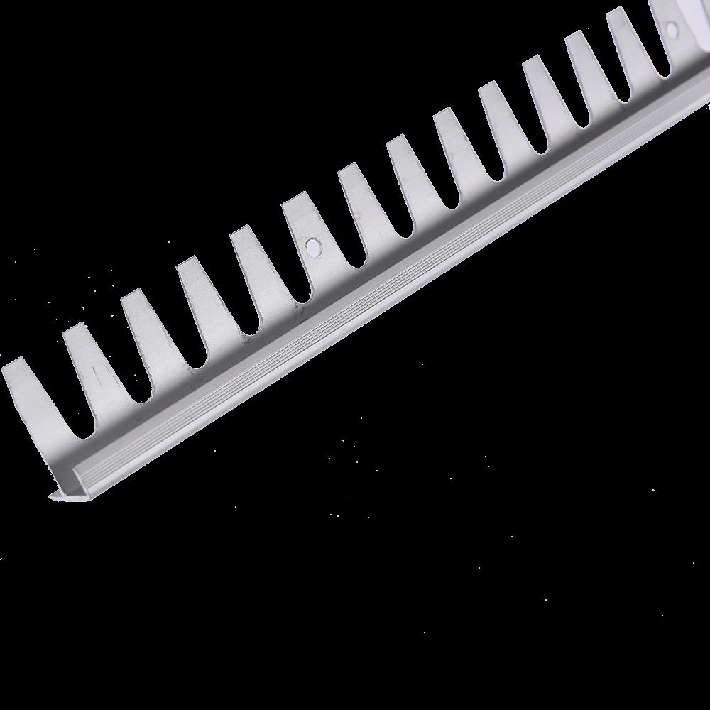 Profil pentru treapta din aluminiu indoibil Set Prod S91 cu latime 20 mm, argint, 2,5 m imagine 2021 mathaus