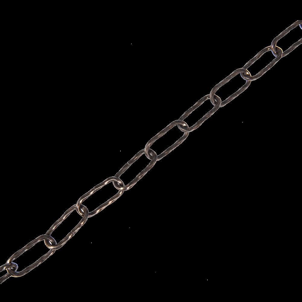 Lant bronz cu profil dreptunghiular rasucit, otel, 3,8 mm mathaus 2021